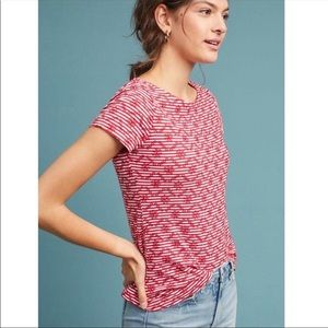 Anthropologie Postmark Bennett Embroidered Top